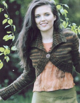 5. knitted bolero