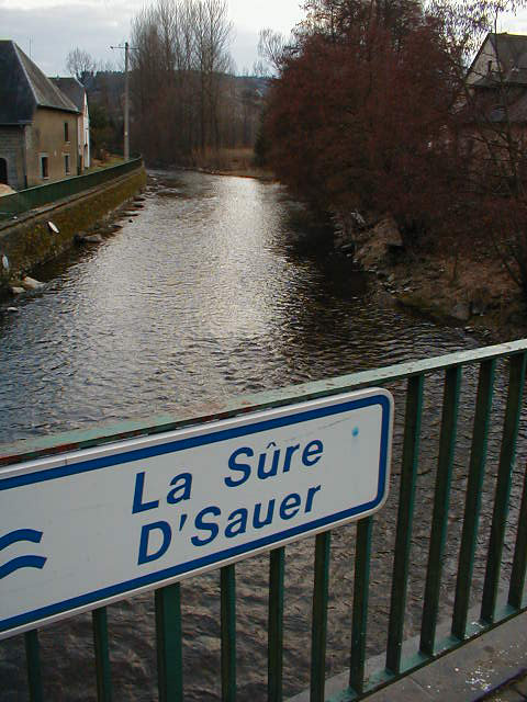 The river at Martelange