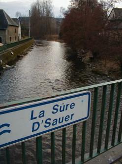 The river at Martelange