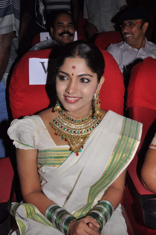 actress bhanu in sari saree