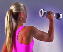 Shake Weight Workout for Arms, Shoulders and Chest