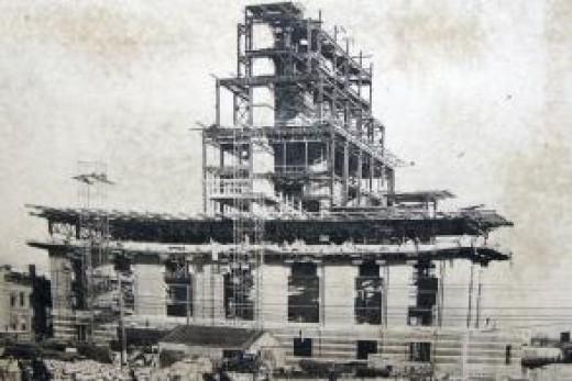Plant under construction