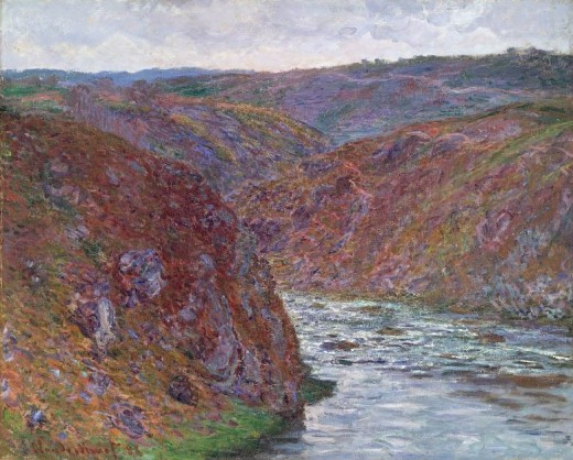 Monet The Petite Creuse River 1889 See 'Painting Limousin'