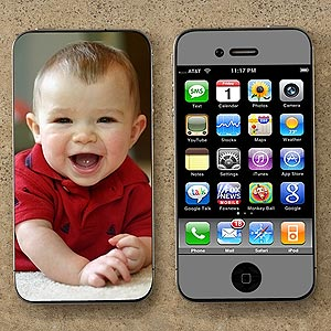 """Mobile Photo Skin - """"Front & Back of Phone"""""""