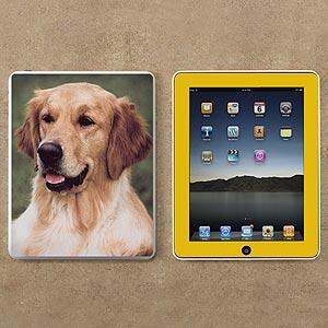 "iPad Photo Skin - ""Front & Back of iPad"""