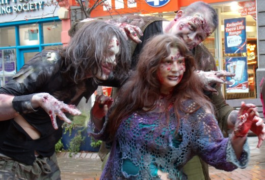 Zombies in Perth city streets!