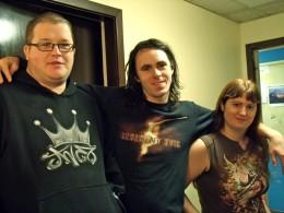 Andrew Dingwall, Euan Stuart and Sarah Barron