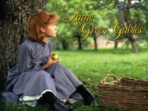 Anne of Green Gables was turned into a popular movie series starring Megan Follows.