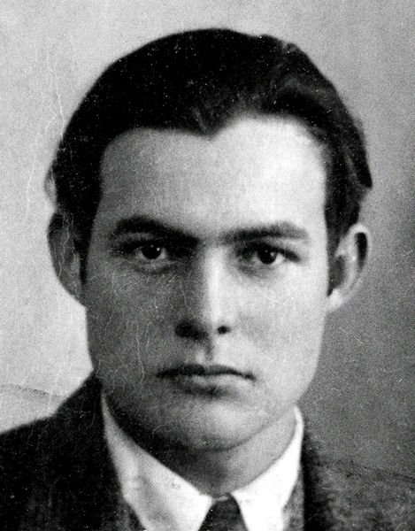 Ernest Hemingway  1923 passport photo
