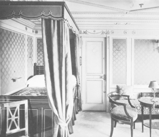 First Class Cabin on the Titanic