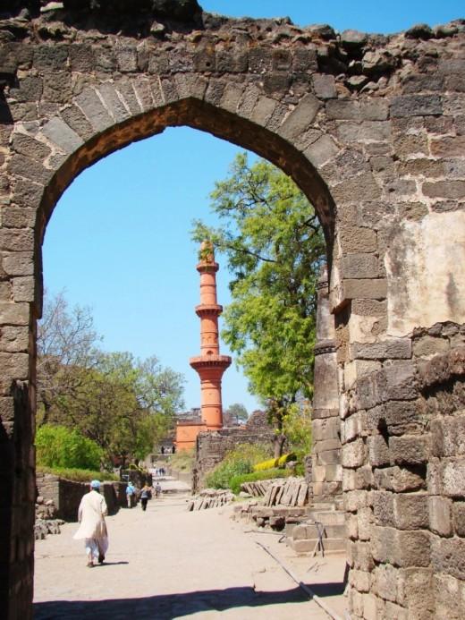 Chand Minar framed