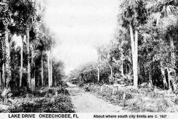 Believe it or not, Parrot Avenue was the smoothest road in Okeechobee for decades