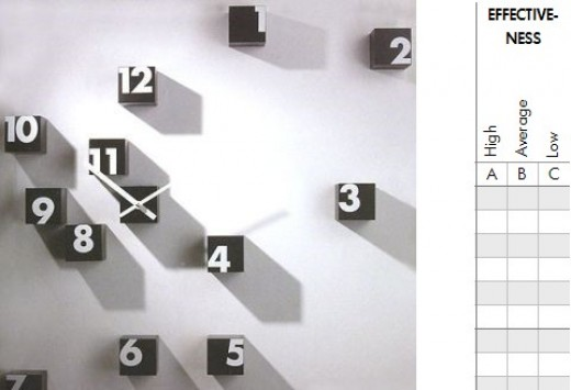 The Infinite wall-clock is by Progetti