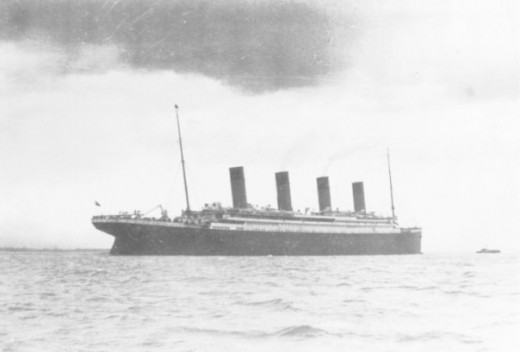 Last Photo of Titanic