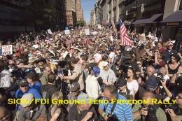 Ground Zero rally