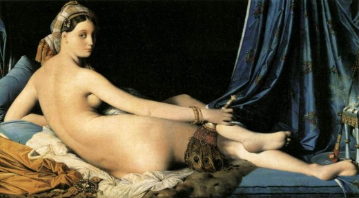 La Grande Odalisque - Jean Auguste Dominique Ingres