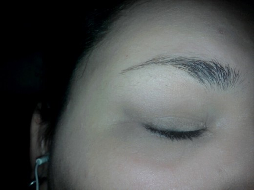 Start off by priming your eyelid from lash line to eyebrow. I used Smashbox Photo Finish Lid Primer.