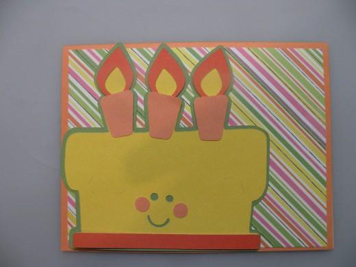 STEP 5  Candles, Cheeks, Sprinkles
