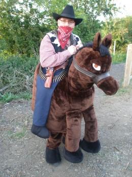 Cowboy, we love your horse!