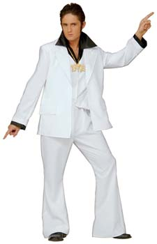 White 70s Suit