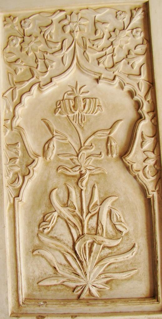 Inlay work on marble 1