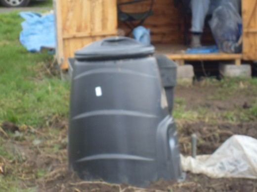 Don't forget to look at your local council's web site as a lot of councils sell cheap bins.  This one cost 12 pounds and was delivered to the house