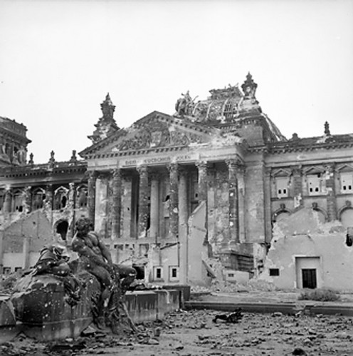 The Reichstag in June, 1945