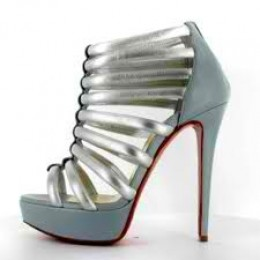 Here it is in silver and blue jean. These shoes are adorable.