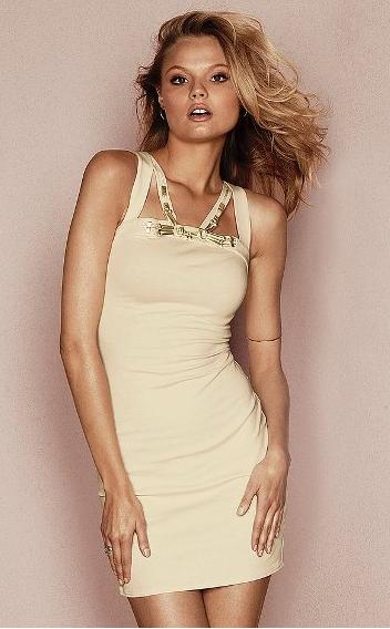 VS embellished dress