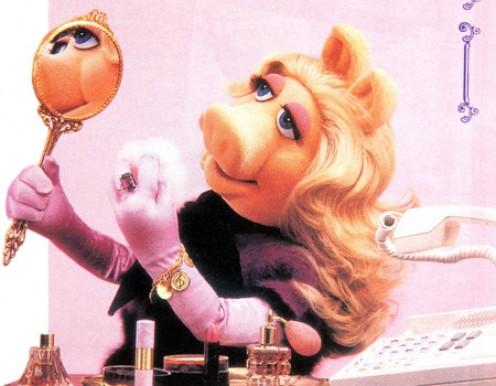 Miss Piggy - my favorite little Narcissist.