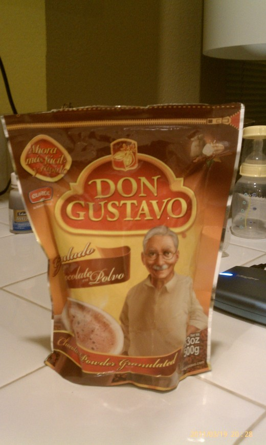 Add some chocolate, look at my little Mexican friend