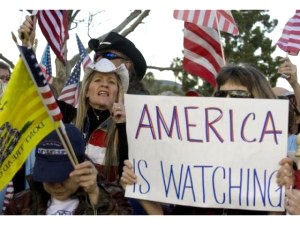"""""""America Is Watching"""""""