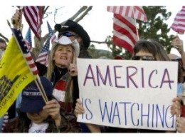 """America Is Watching"""