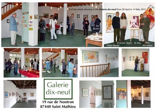 Exhibiton Galerie dix-neuf