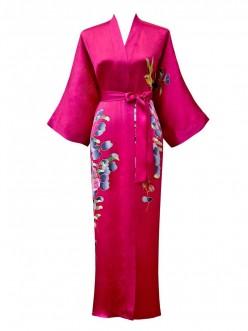 A Silk Kimono Robe - A Brief History of The Kimono Robe
