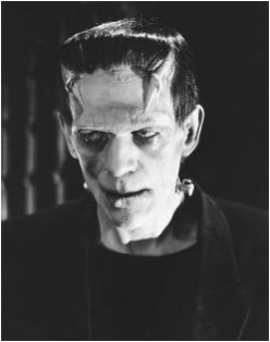 Hollywood Monsters I Know and Love Including Frankenstein
