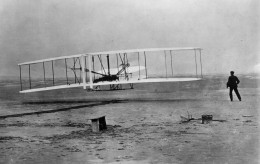 THE FIRST CONTROLLED POWERED FLIGHT BY THE WRIGHT BROTHERS, 1903