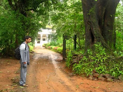 A haunted house in Khandala
