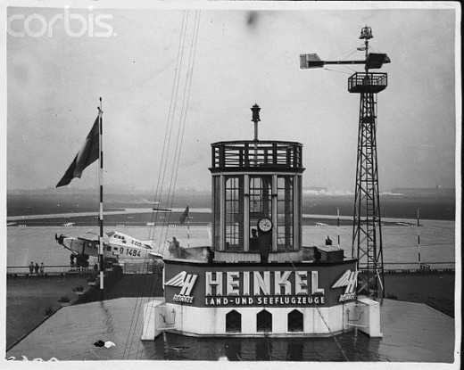 AIR TRAFFIC CONTROL, BERLIN, 1925