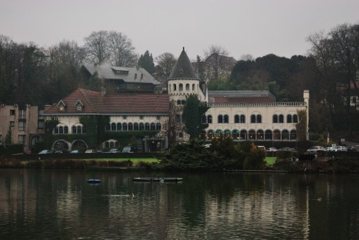 Genval's castle by the lake