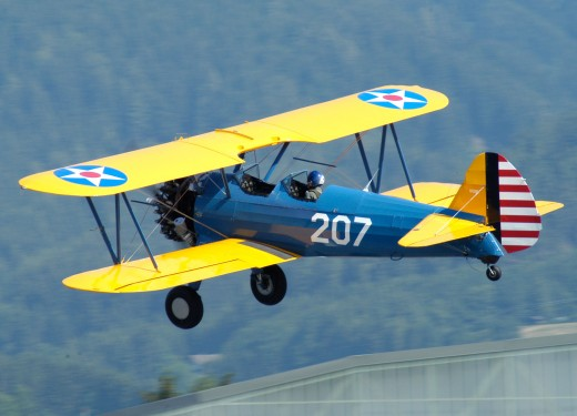 THE MIGHTY STEARMAN