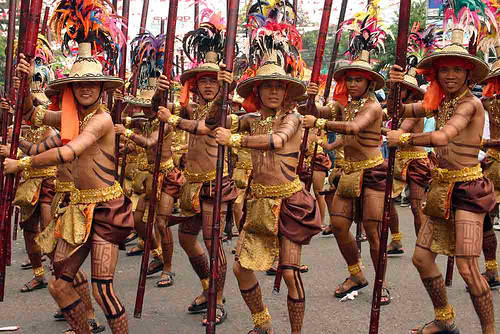 PINTADOS Festival at Tacloban, Leyte every June 30th