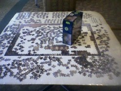 Step by step instructions for doing jigsaw puzzles