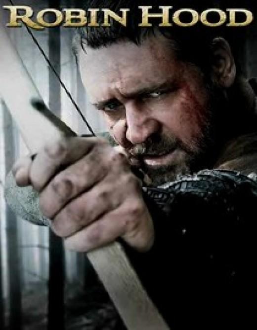 Russell Crowe as Robin Hood.