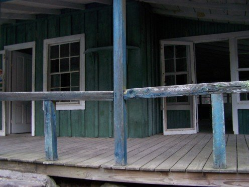 One of the cottages of the Elkmont logging community