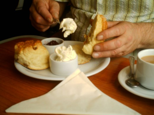 An English cream tea