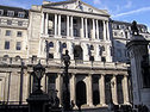 BANK OF ENGLAND WHERE THE RECESSION STARTED