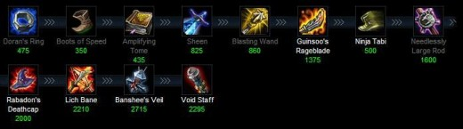 how to change item sets lol