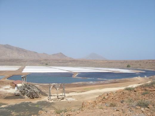 The Salt Flats, Sal, Cape Verde