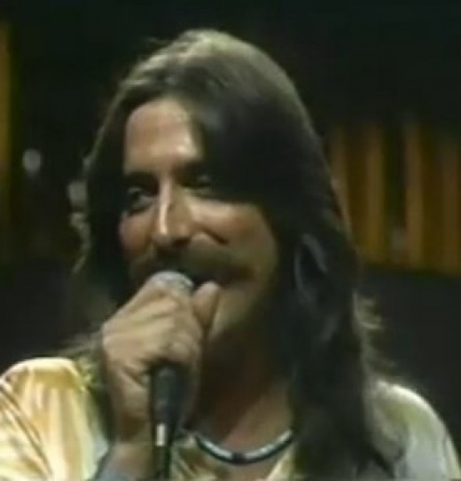 Chuck Negron during a Three Dog NIght performance - video still used with permission from Chuck Negron